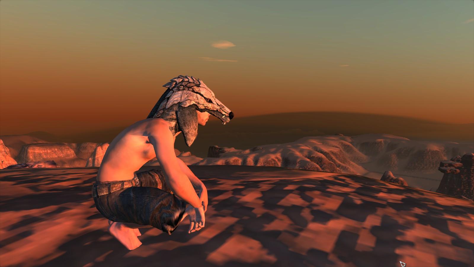 Wolf headgear / Волчья Шапка (RU)