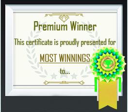 Most winnings