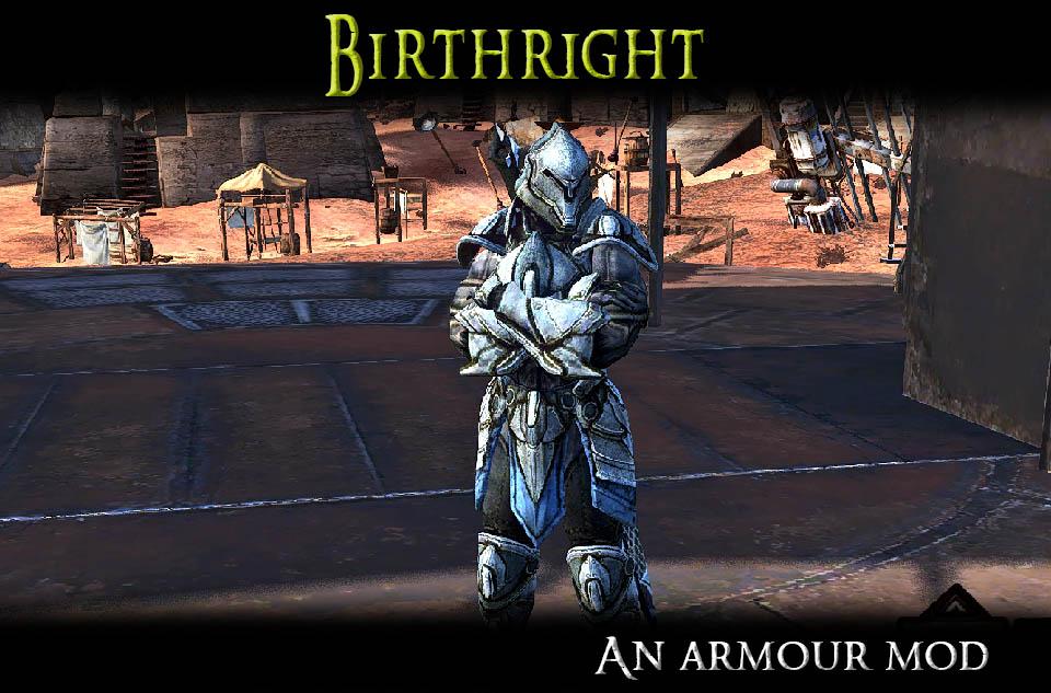 Birthright - A Tier 3 Armour Mod/Первородство - Модификатор брони 3-го уровня(RU)