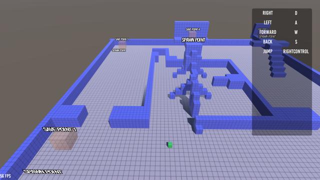 5 Maze Sample Scene