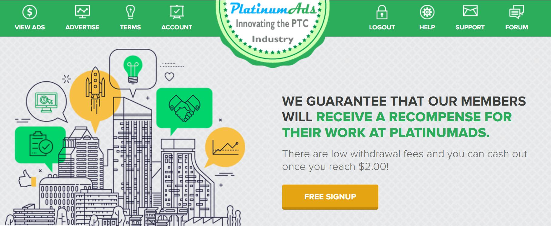 platinumads.info reviews
