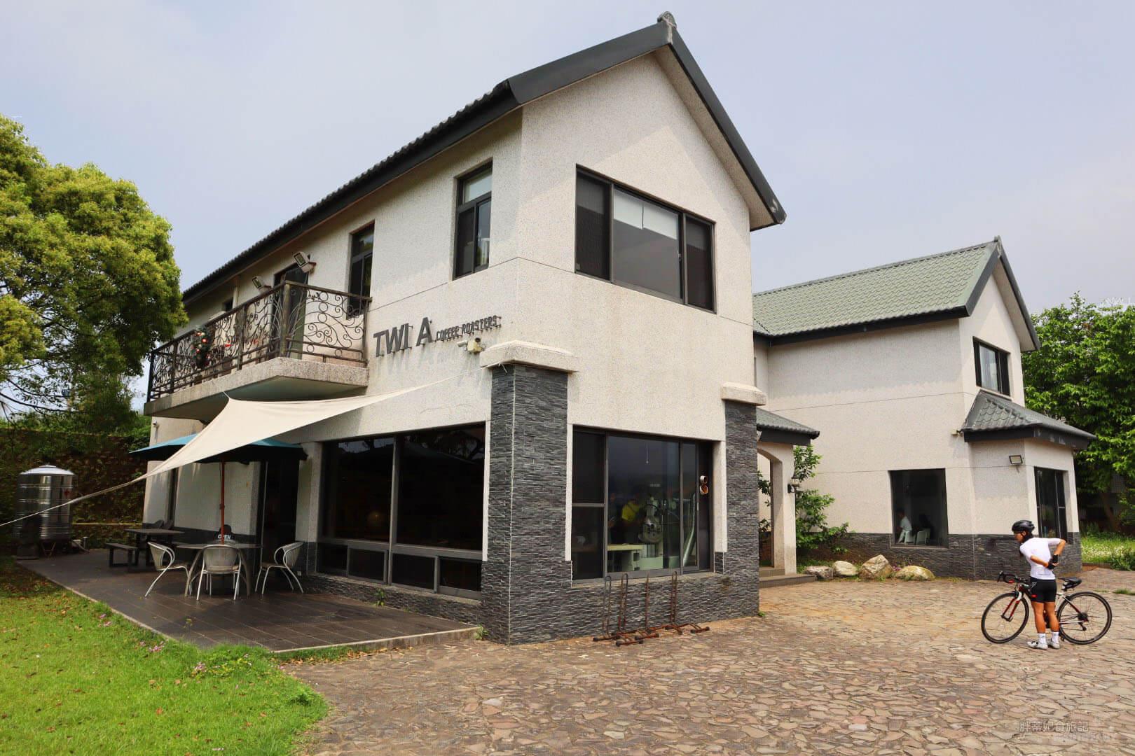Twi A錘子咖啡烘焙坊 的民宅建築,莊園感。