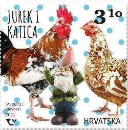 2020. year DJE-JI-SVIJET-PATULJASTE-IVOTINJE-Jurek-i-katica-hrvatska-patuljasta-koko