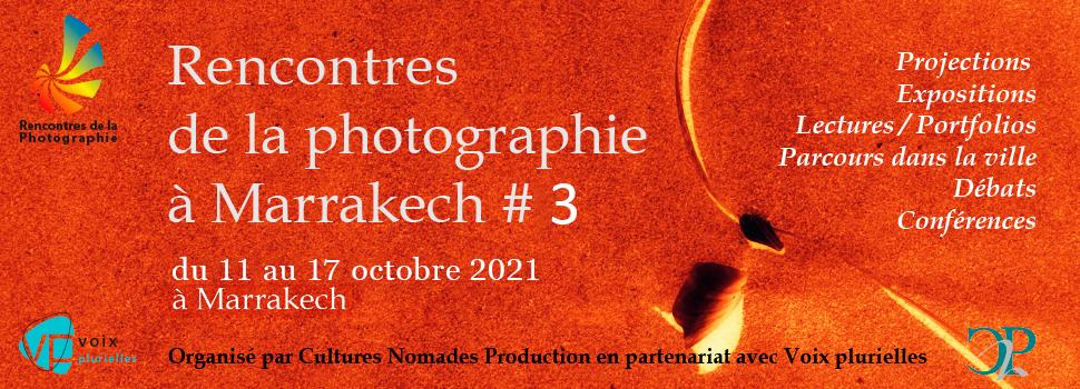 Nouvelle édition : Rencontres de la photographie à Marrakech 2021