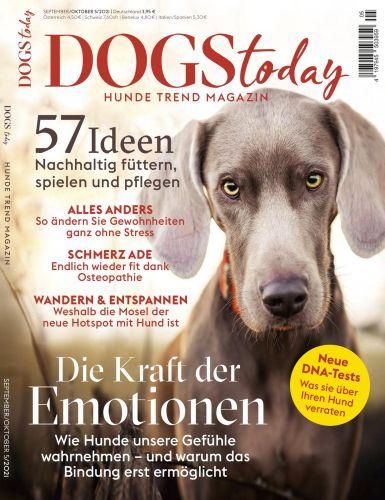 Cover: Dogs Today Magazin No 05 September-Oktober 2021
