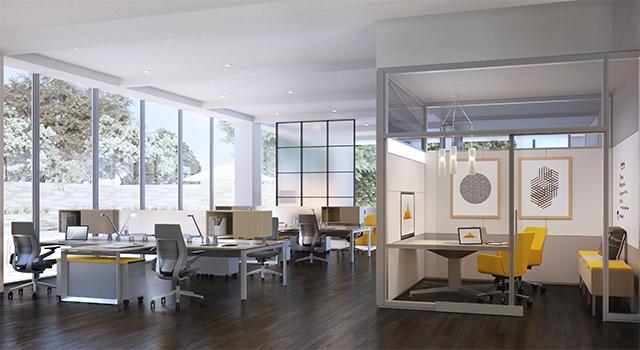Pengaturan Kantor Untuk Ekstrovert di Ruang Terbuka Introvert di Ruang Tertutup
