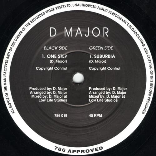 Download D Major - Suburbia / One Step mp3