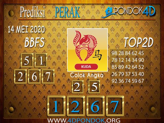 Prediksi Togel PERAK PONDOK4D 14 MEI 2020