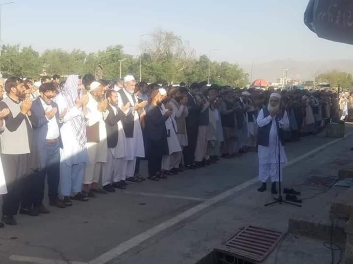 کابل کې د مرسي غایبانه جنازه وشوه