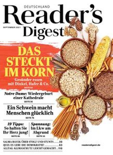 Cover: Readers Digest Magazin No 09 September 2021