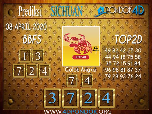 Prediksi Togel SICHUAN PONDOK4D 08 APRIL 2020