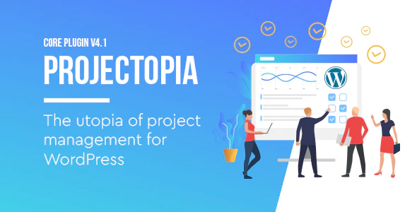 CodeCanyon - Projectopia v4.2.1 - Wordpress Project Management - 11788321