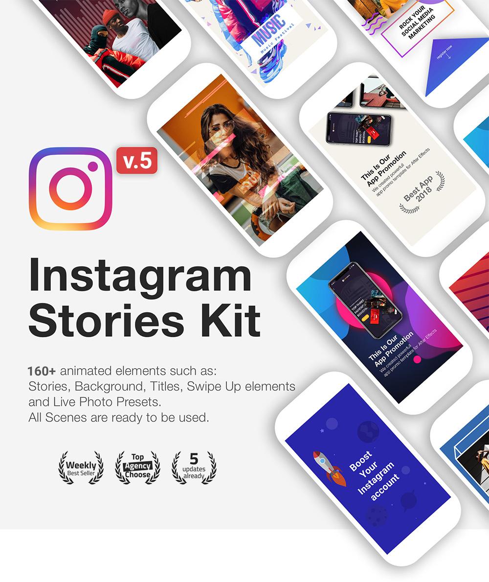 Instagram Stories Kit // Instagram Story Pack - 1