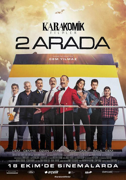 Karakomik Filmler: 2 Arada | 2019 | Yerli Film | NF | WEB-DL | XviD | Sansürsüz | 720p - 1080p - m720p - m1080p | WEB-DL | Tek Link