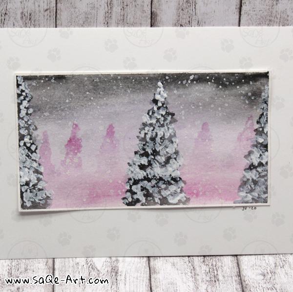 Winter view - SaQe-Art.com