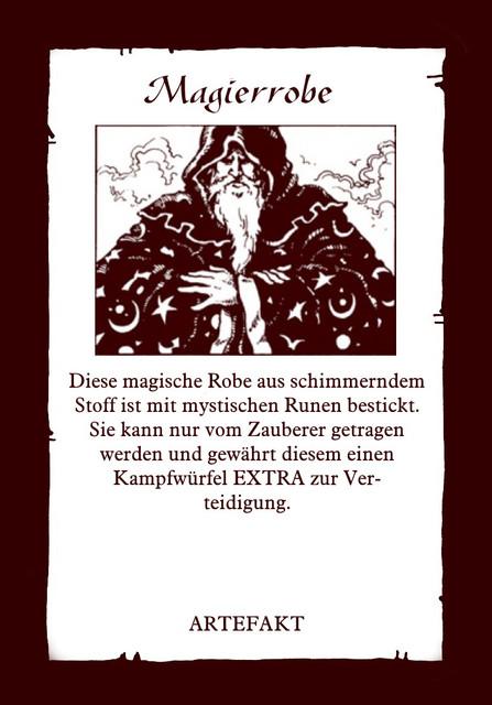 Artefakt-Magierrobe