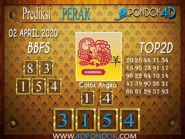 Prediksi Togel PERAK PONDOK4D 02 APRIL 2020