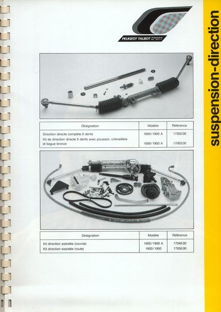 Catalogue PTS pièces compétition - 205 GTI 1600-1900 gr. N/A PTS-Suspension-Direction-10