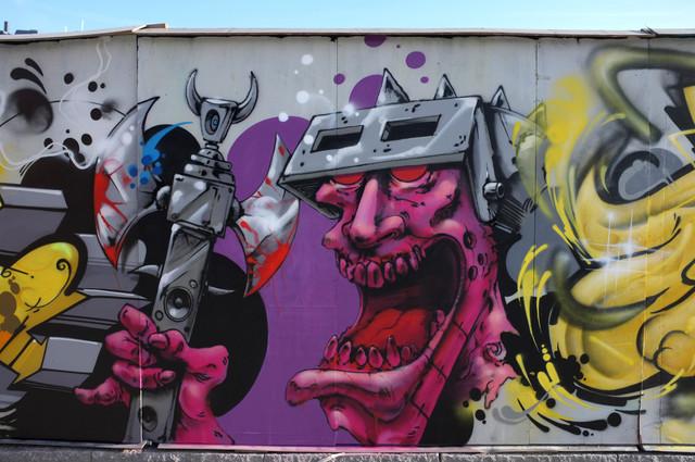 Ocur Gouge Morgue Holem Rabeks Spray-it väggen week konstjord