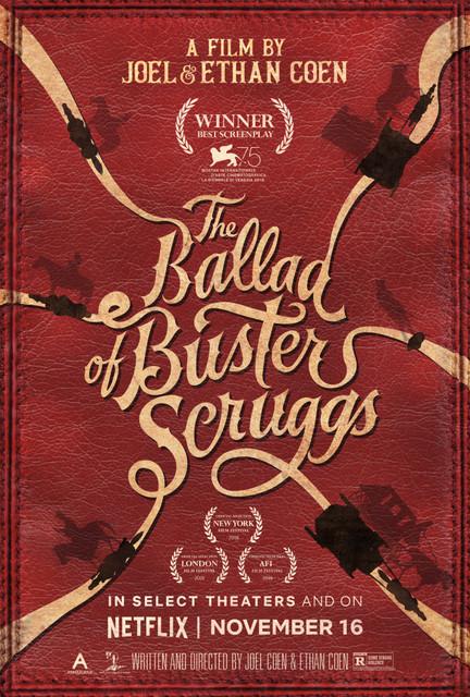 Смотреть Баллада Бастера Скраггса / The Ballad of Buster Scruggs Онлайн бесплатно - События разворачиваются на Диком Западе в маленьких захолустных городках среди бескрайних...