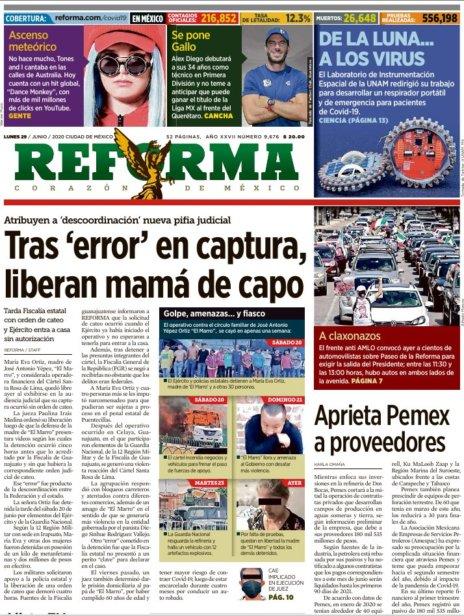 [Imagen: Reforma-29-junio-2020.jpg]