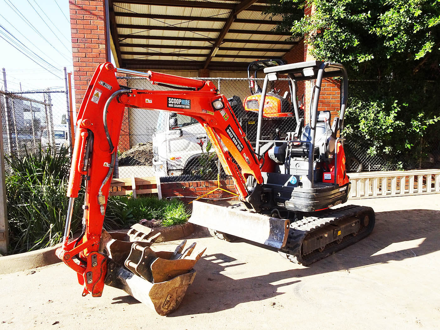 The Types Of Home Improvement Projects A Mini Excavator Can Handle.