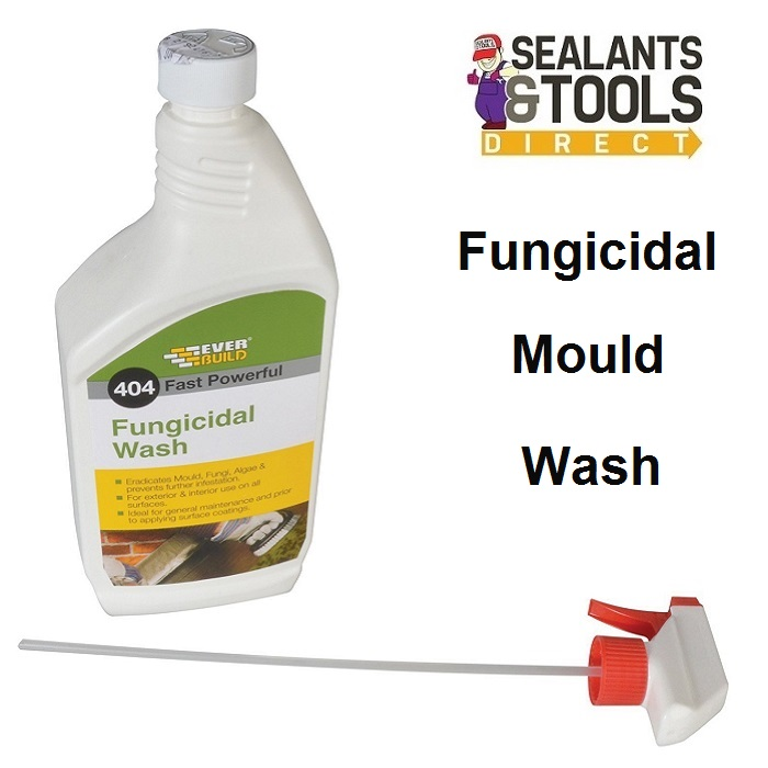 Everbuild 404 Fungicidal Wash Moss Mould Remover 1 Litre FUN1