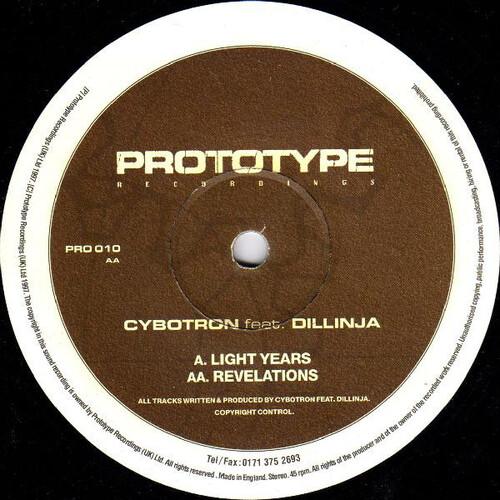 Cybotron Feat. Dillinja - Light Years / Revelations