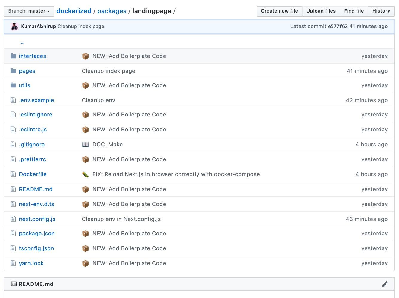 Next.js Project Folder Structure