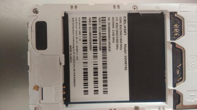 Celkon smart 4g flash file needed
