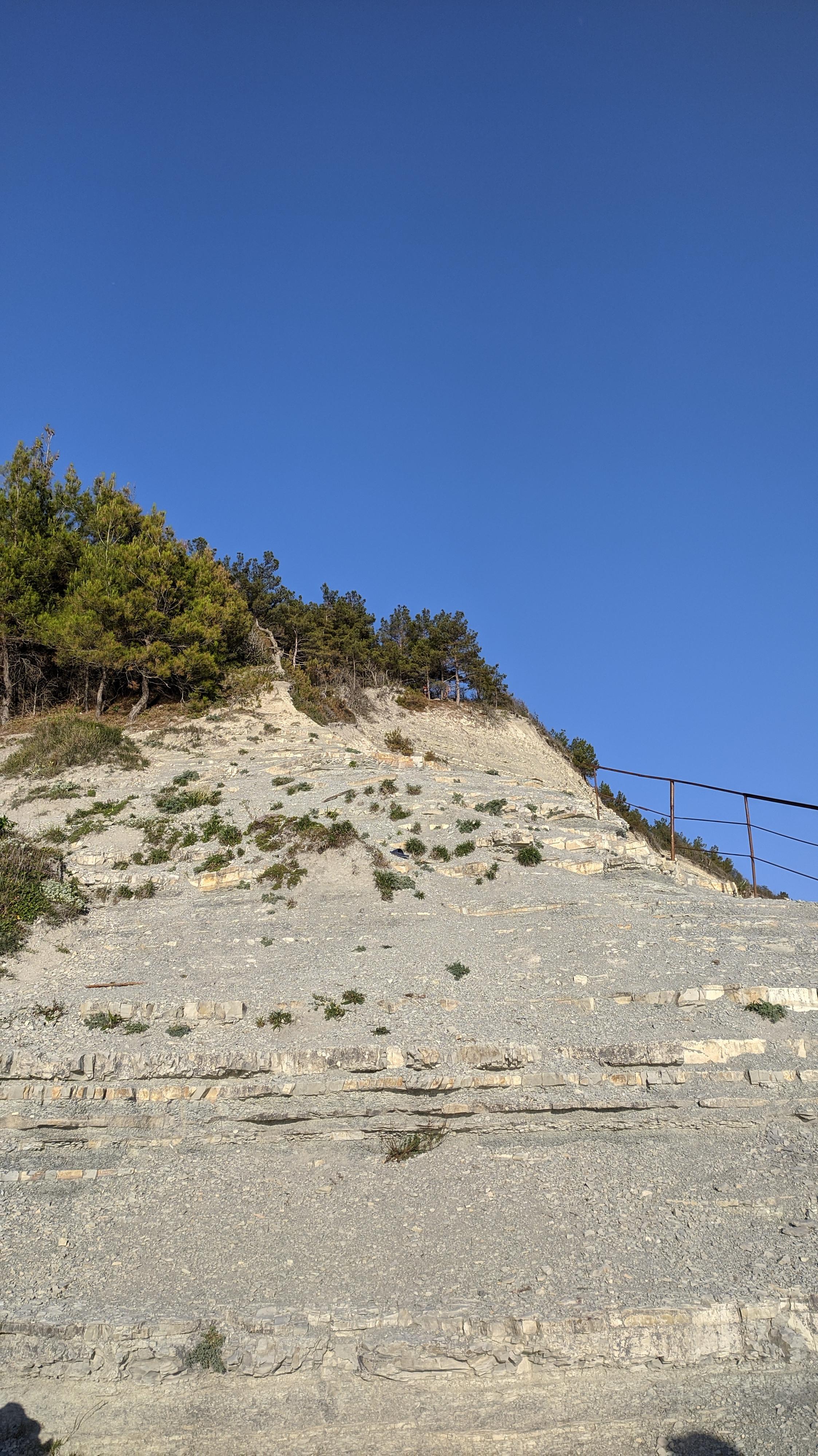 фото дикий пляж Сосновка, Геленджик