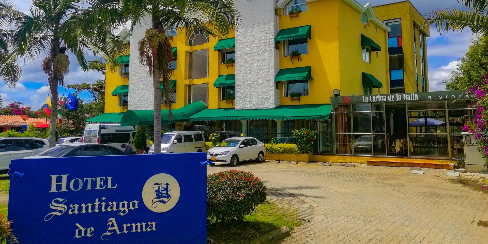 Hotel Santiago Arma