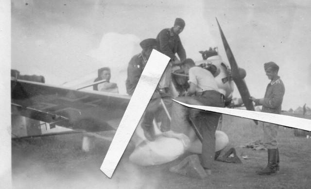 Foto-Soviet-Flugzeug-Beute-Yak-Ut-1-Luftwaffe