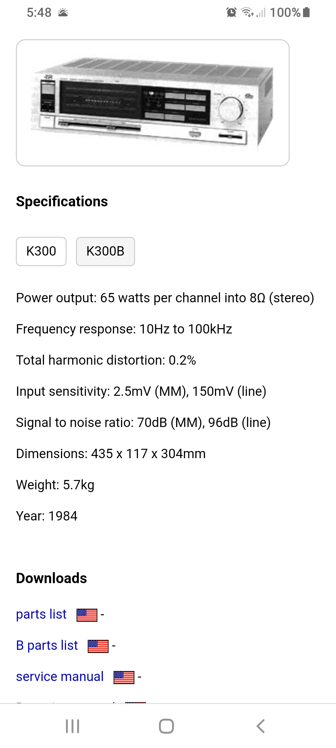 Sobre JVC, jvc a-k300, que tal es ? de que año ? Alguien con mas info ? Screenshot-20200130-054817-Chrome