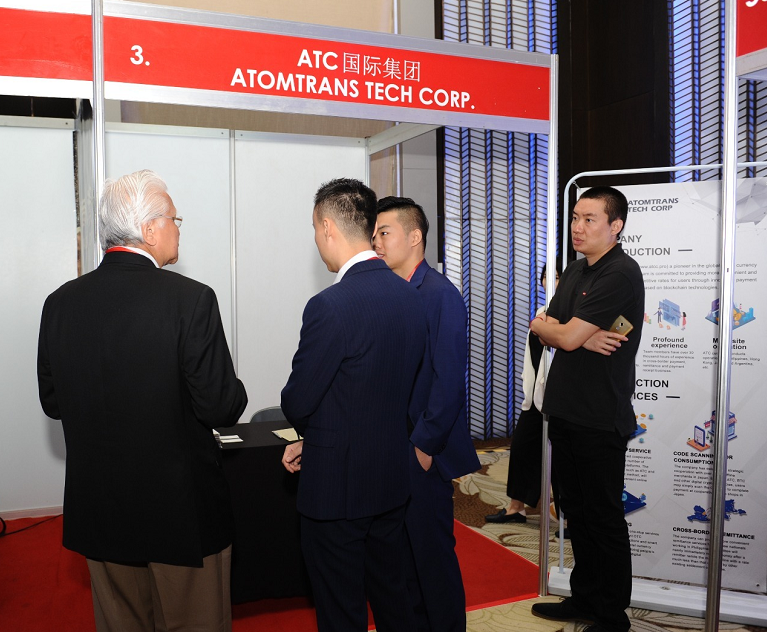 ATC International Group CEO Felix Xia, COO William Liu and Department of Transportation executive, Arthur Tugade cordially met.