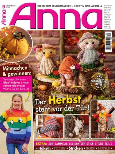 Cover: Anna Ideen zum Selbermachen Magazin No 09 September 2021