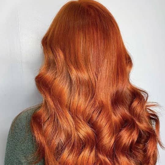 ginger -hair-color