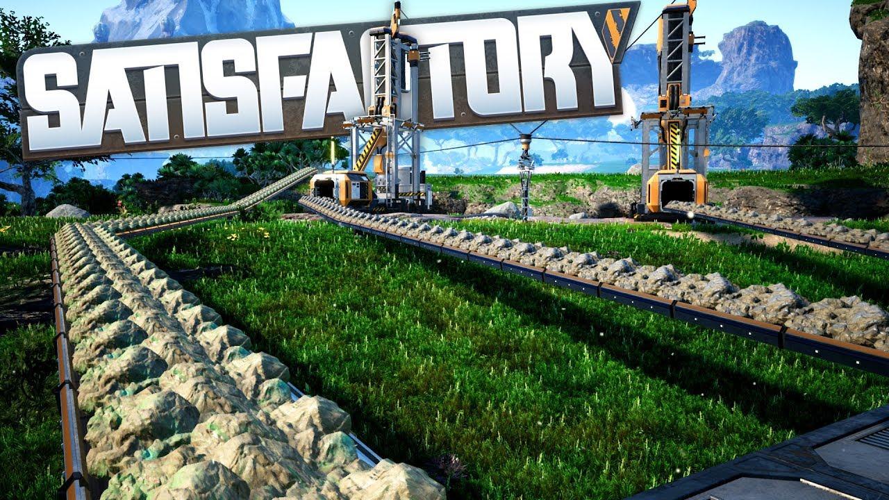 Satisfactory - сбор ресурсов
