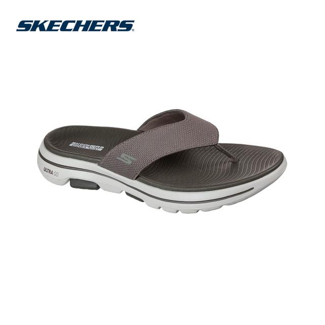 Skechers Dép Nam Go Walk 5 - 229009-KHK giá rẻ