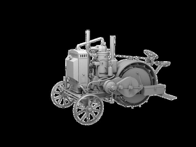 Трактор Запорожец