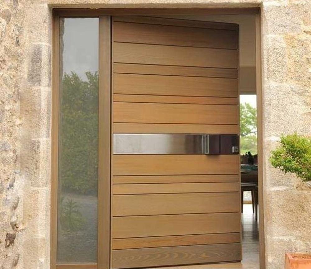 20 Inspirasi Desain Pintu Rumah Minimalis yang Keren ...