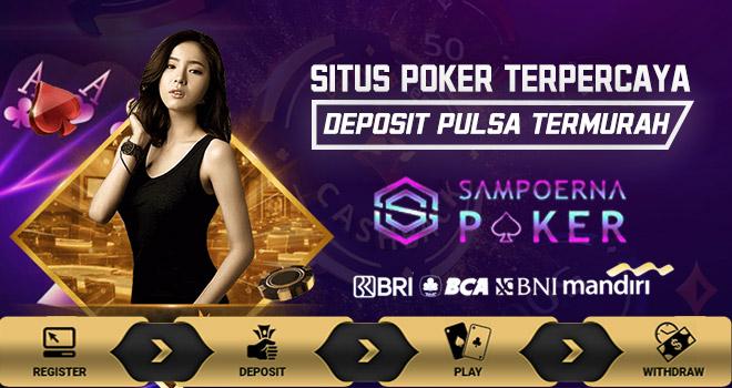 Poker Deposit Pulsa 10000