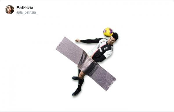 Потрясающий гол головой от Криштиану Роналду разлетелся на фотожабы
