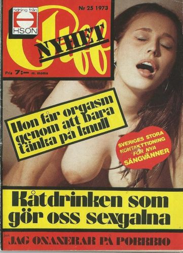 Cover: Piff No 25 1973