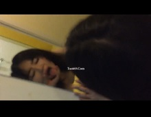 Clip: Doggy bạn gái mông trái tim cực ngọt trước gương =)))