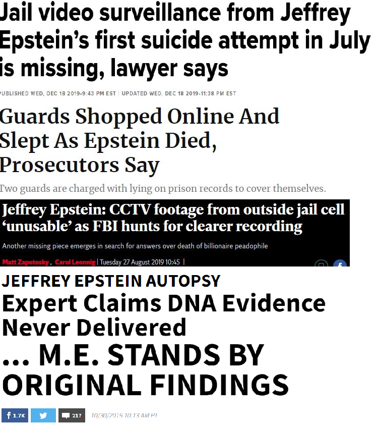 If You Still Believe Epstein Is Dead, I Have a Bridge to Sell You