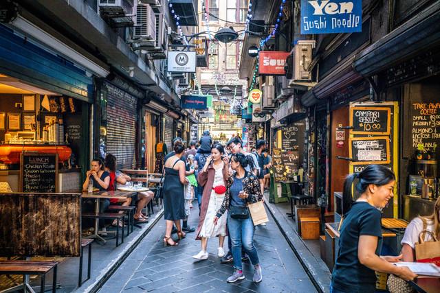 Tourist-at-Melbourne