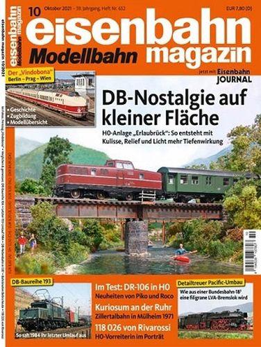 Cover: Eisenbahn Magazin No 10 Oktober 2021