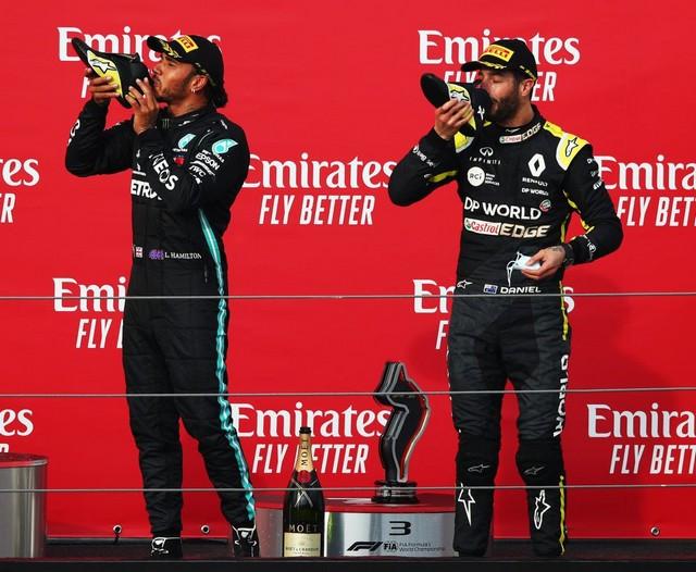F1 GP Émilia Romagna 2020 : Vitoire Lewis Hamilton, le titre pour Mercedes Ricciardo-hamilton-1