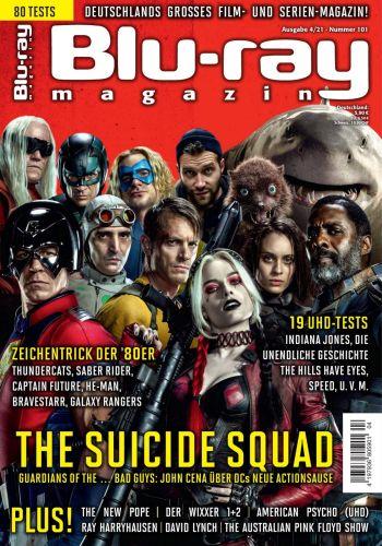 Cover: Blu-Ray Magazin für höchsten Filmgenuss No 04 2021
